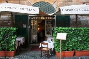 Insegna Capricci Siciliani