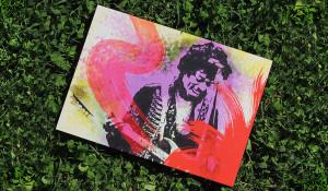 Hendrix -Pannello cm 35x50 esterno/interno