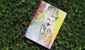 Chaplin Pannello cm 35x50 esterno/interno