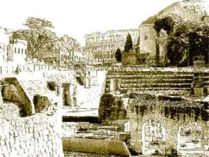 Colosseo - anfiteatro