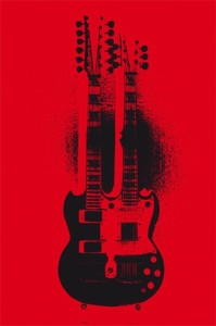 Double Devil, chitarra gibson Sg