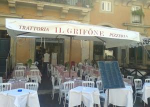 Il Grifone di Piazza Navona