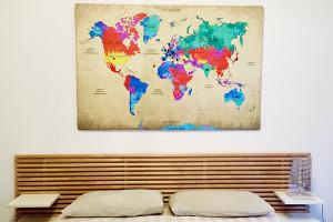 Mappamondo geopolitico