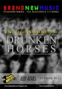 Locandina Drunken Horses