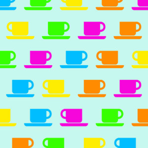Tavolino tazzine da caffè