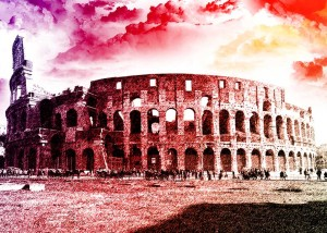 Colosseo Pop Art
